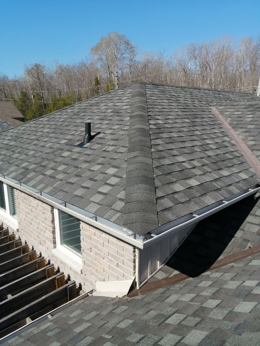 Antique Slate Grey Shingles done in Orillia