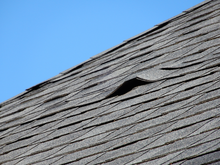 Old Shingle Roof in need of Replacement