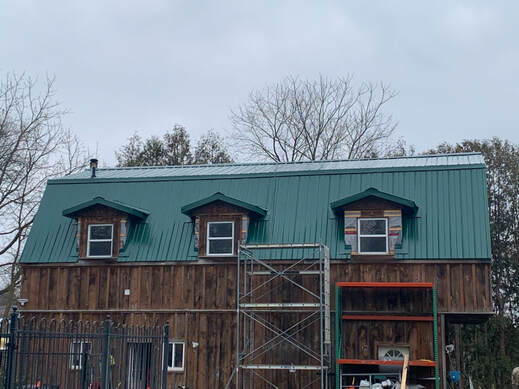 New Metal Roof in Barrie Ontario